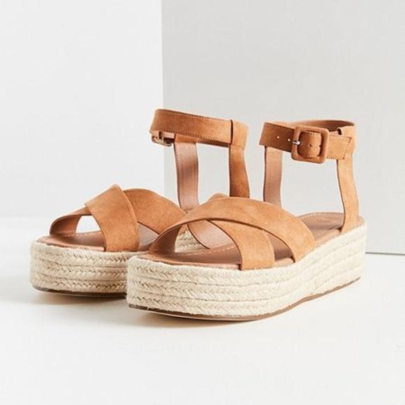 d62d08e8c36 Cora Flatform Espadrille Sandals 7 Beige